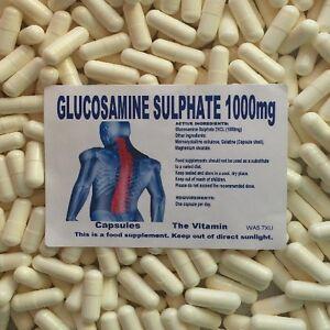 Die Vitamin Glucosamine Sulphate 2kcl 1500mg 365 Tabletten IN Einer Tüte