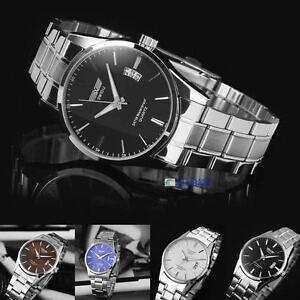 New-Mens-Watch-Stainless-Steel-Band-Date-Analog-Quartz-Sport-Wrist-Watch-Army-Z2