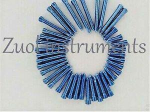 Locking-Screws-Self-Tapping-LCP-Safety-Lock-Titanium-Blue-5-0mm-Hex-Head-100-Pcs