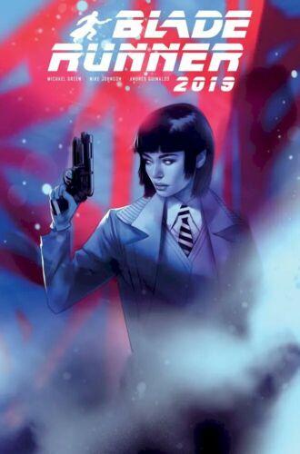 BLADE RUNNER 2019 4 JETPACK COMICS//FORBIDDEN PLANET BEN OLIVER VARIANT Titan HOT