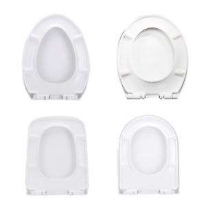Toilet Seat Lid Closed Front Soft Slow Close Cover Replacement White Ebay