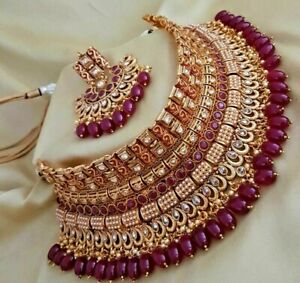 Indian Bollywood Gold Plated Jewellery
