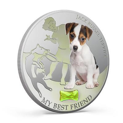 Fiji 2013 Dogs /& Cats IV My Best Friend English Cocker Spaniel 1 Oz Silver Coin