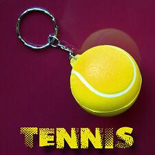 TENNIS Porte Clefs Anti-Stress Balle de Tennis Porte Clé