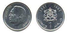 MOROCCO: 7-PIECE UNCIRCULATED COIN SET, 0.05 - 1 DIRHAM