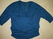 Vivance Viskose Shirt Gr NEU 36-46  Rosa Ton Wasserfallkragen 002