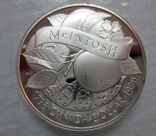 1996 CANADA JOHN MCINTOSH PROOF SILVER DOLLAR COIN