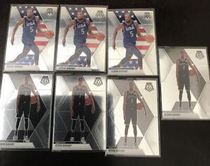 Panini-Mosaic-Kevin-Durant-Nets-Base-Lot-USA-X7-2020-All-NBA
