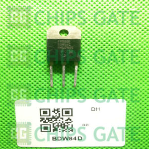 3PCS-BDW84D-Encapsulation-TO-3P-PNP-SILICON-POWER-DARLINGTONS
