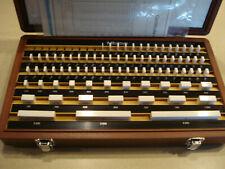 Mitutoyo 516-102 Steel Gage Block Set