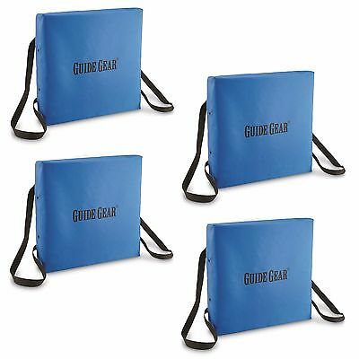 2 Floatable Boat Cushion Seat Emergency Coast Guard Certified Throwable Safety
