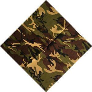 Camouflage-Cotton-Scarf-bandana-Scarves-Head-Hip-Hop-Headband-Turban-Headwrap