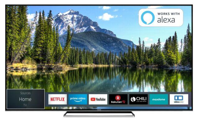 Toshiba 65vl5a63dg 65 Zoll 2160p 4k Ultrahd Led Fernseher Schwarz Günstig Kaufen Ebay