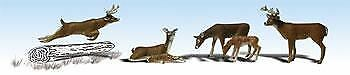 WOODLAND SCENICS N SCALE DEER WHITE-TAIL BN2185 6