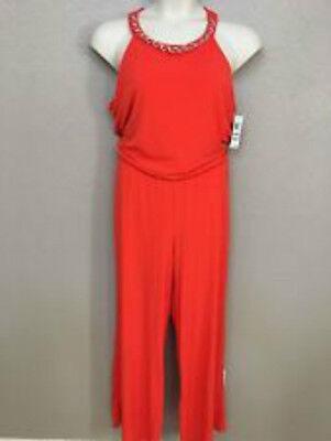 JuTabeez Women/'s Plunging Neckline Wide Leg V Neck Jersey Long Clubwear Jumpsuit