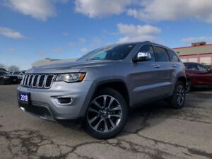2018 Jeep Grand Cherokee LIMITED**4X4**LEATHER**PANO ROOF**BLIND SPOT**