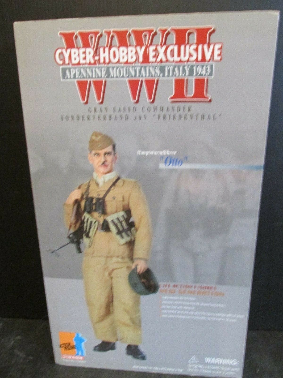 Dragon Cyber-Hobby Exclusive WW11 APENNINE MOUNTAINS ITALY 1943  OTTO