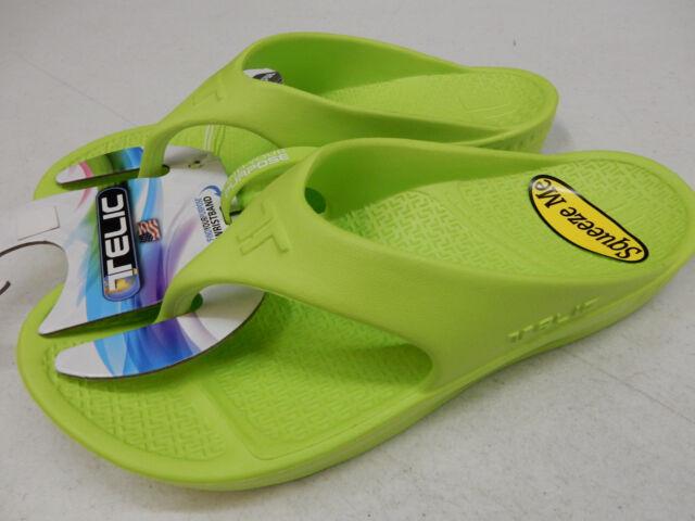46d46e484fe Flip Flop 100 Sandal Footwear by Telic TEROX Antibacterial Med Arch ...