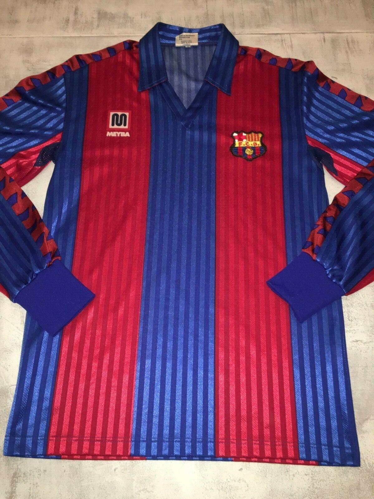 MEYBA FC Barcelona 19901992 Shirt S Dimensione