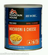 3 - # 10 Cans - Macaroni & Cheese - Mountain House Freeze Dried Emergency Food