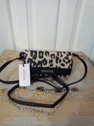 Details about  /Juicy Couture Rosie Mini Crossbody Snow Leopard Crossbody MRSP $45