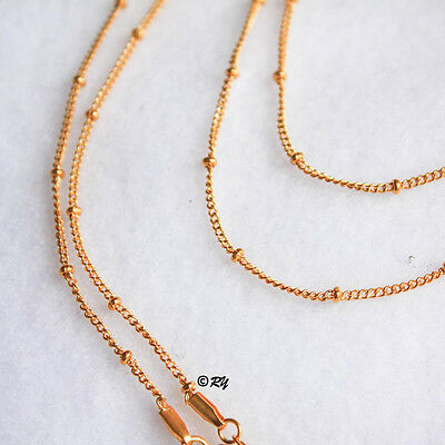 CHAIN Stainless Steel for Floating Living Glass Memory Locket Necklace
