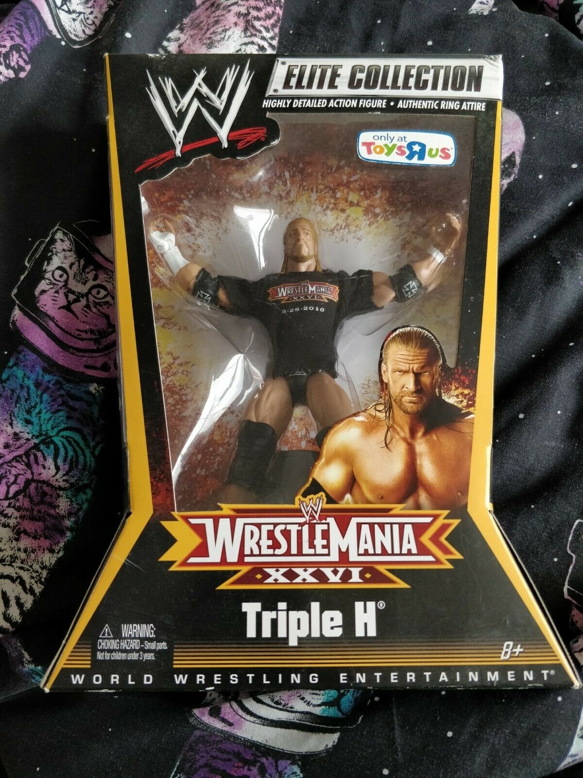 TRIPLE H ELITE WWE FIGURE WRESTLEMANIA XXVI 26 NEW SEALED RARE