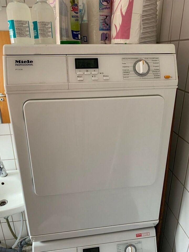 Miele vaskemaskine, PT 5136, vaske/tørremaskine