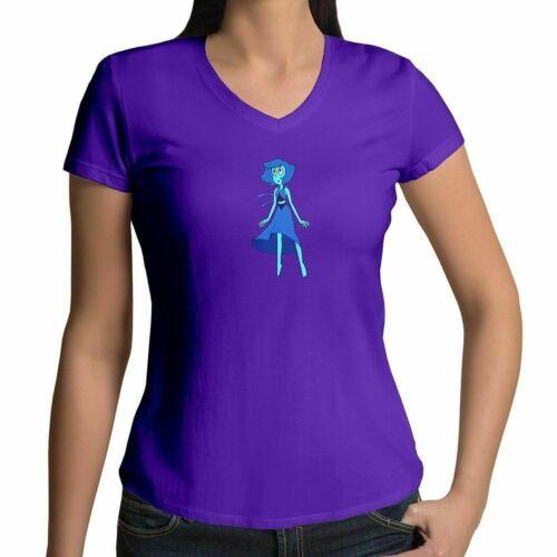 Details about  /Juniors Girl Women Tee T-Shirt Lapis Lazuli Steven Universe Show Crystal Gems SU