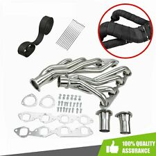 Shorty Headers Stainless Steel For 1963 1974 Bbc Chevy 396 402 427 454 502cu V8