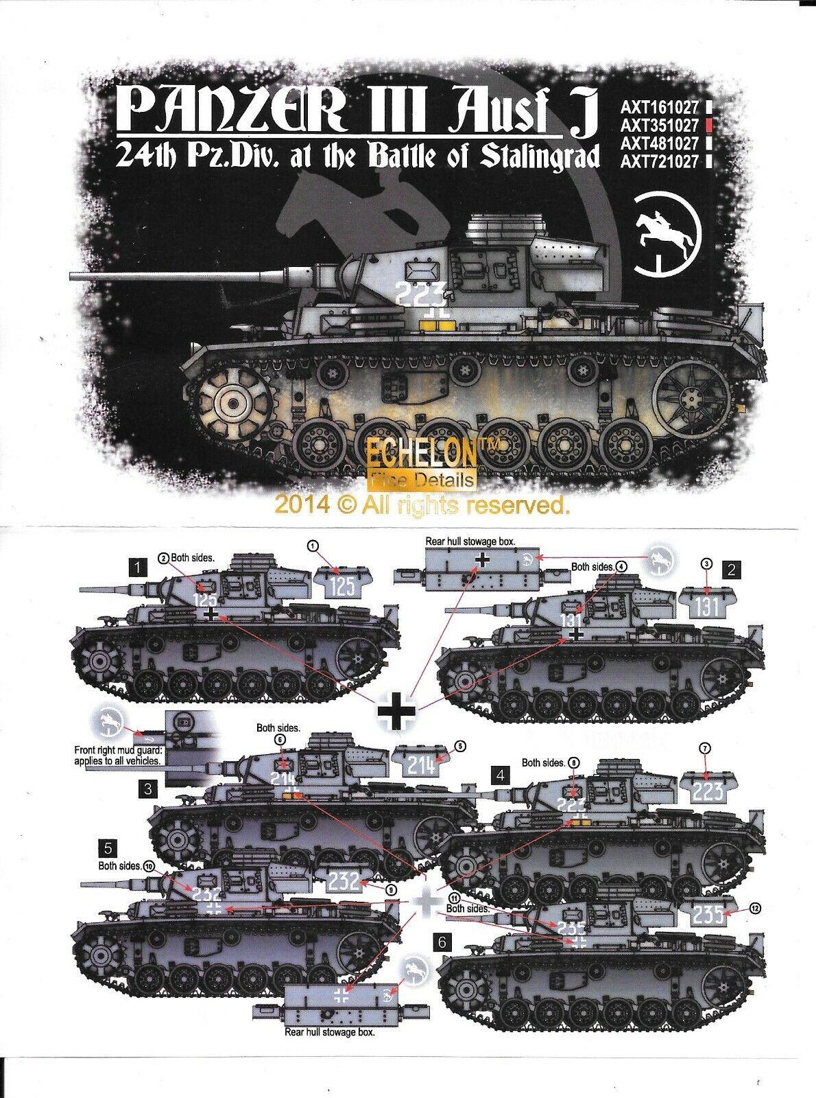 5 Echelon Fine Details Decals for 1//35 31 Pz.Rgt. Panthers Pz.Div