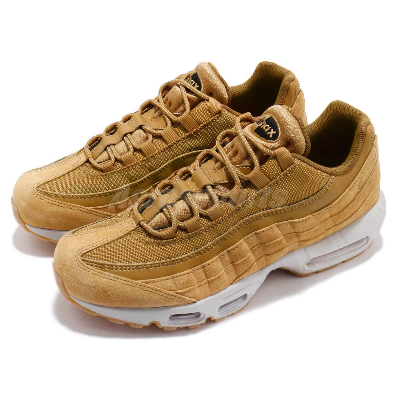 Nike Air Max 95 SE Wheat Pack Light Bone Men Running shoes Sneakers AJ2018-700