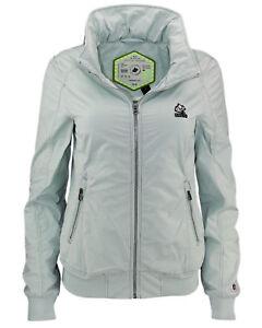 Khujo Abiqua About Women's Transfer Summer Details Jacket Hood Turquoise Spring 1JT3FclK