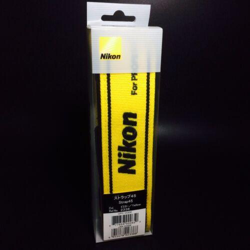 Nikon 2338 cuello//hombros Correa 45 Mm Para Profesional Amarillo Original Nuevo