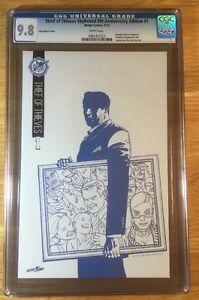Birthright 1 5th Anniversary Variant Cover NM//MT CGC 9.8 Blue Line Sketch