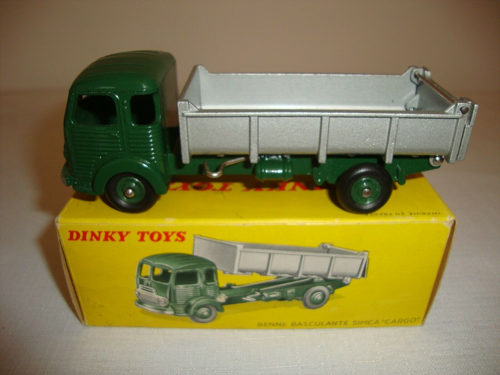 FRENCH DINKY 578 BENNE BASCULANTE SIMCA  CARGO  - EXCELLENT in original BOX