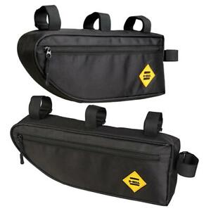 B-SOUL-Bicycle-Triangle-Bag-Bike-Frame-Front-Tube-Bag-Waterproof-Pouch