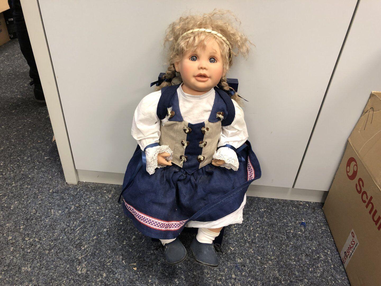 Gerlinde FESER vinile bambola 65 CM. OTTIMO stato