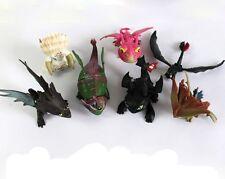 7pcs How To Train Your Dragon Toothless Mini Figure Kids Toys Dolls 6-10cm Set