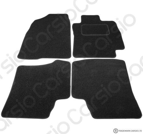 Toyota Prius 2005 to 2009 Fully Tailored Black Car Floor Mats Carpet 4pc Set