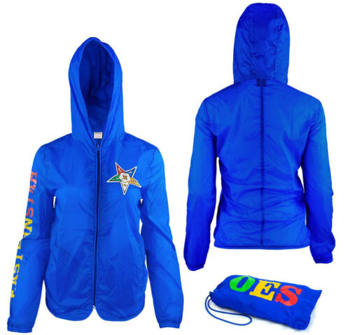 Order of the Eastern Star OES Lightweight Jacket with Pocket-Size Small-New!