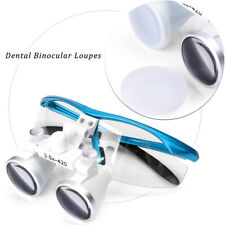 35x 420mm Binocular Loupes Glasses Loupe Lens Magnifier Dental Surgical Medical