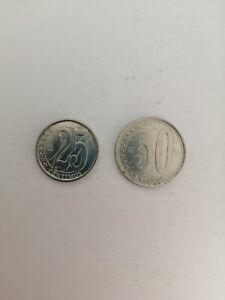 Venezuela-lotto-di-2-monete-del-2007