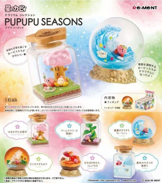 07//20 Re-Ment Miniature Star Kirby Pupupu Seasons Terrarium # 5 Fallen leaves