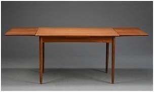Spisebord, teaktræ, Dansk Design Møbler