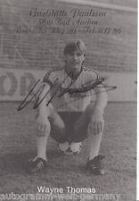 Wayne Thomas Alemania Aachen AK 80er Jahre TOP Original Signiert +A30677