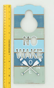 NO WAKE ZONE SIGN #PS-461//62...LARGE