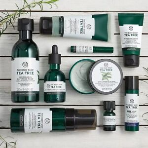 Skin-Clearing-TEA-TREE-Body-Shop-gt-Blemishes-Blackheads-Spots-Shiny-Oily-Skin