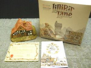Lilliput Lane Oak Lodge The English South East Collect. #00063 NIB & Deeds 1982