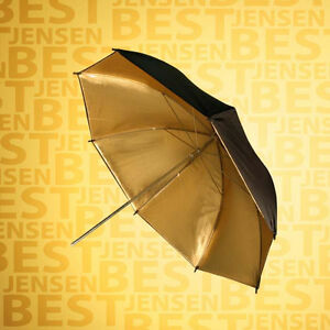 32in Gold Reflective Umbrella Pro Photo Photography Studio Video PBL